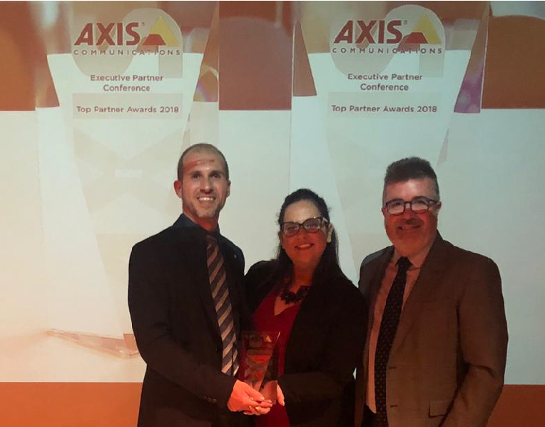 Axis Alphanet premi partner 2018